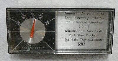 American Association Of State Highway Officials Thermometer 1968
