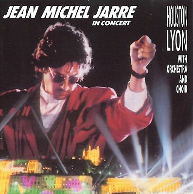Cd Jean Michel Jarre In Concert Houston Lyon With Orchestra And Choir Germany Ps