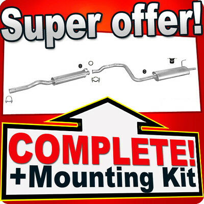 Audi 80 B4 1.6 2.0 1991-1996 Silencer Exhaust System 019