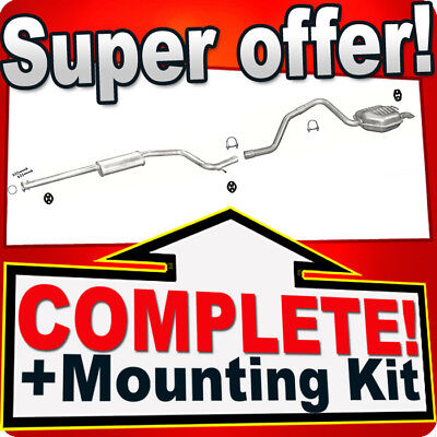Ford Mondeo 3 III 2.0 2.2 TDCi Estate Silencer Exhaust System 205