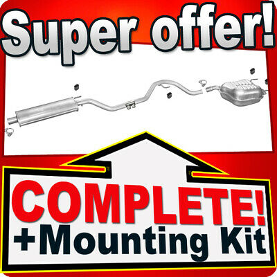 Opel/Vauxhall Vectra C 1.6 1.8 16V from 2002 Silencer Exhaust System 388