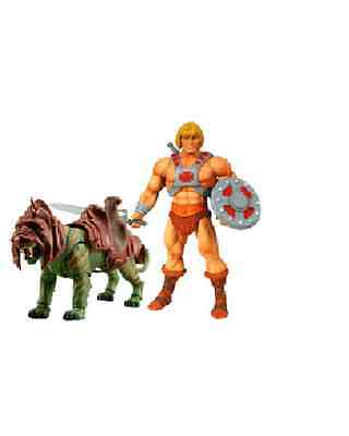 He Man & Battle Cat # Party Pak_Masters of the Universe Classics MOTU NEU & OVP