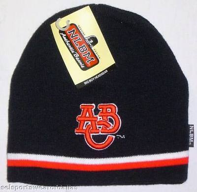 adfcac56454b4 New! Negro League Atlanta Black Crackers Embroidered Beanie - Knitted Skull  Cap
