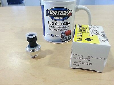 New OEM Oil Pressure Switch (12621649) GM cars & SUVs w/3.5, 3.6, 3.9