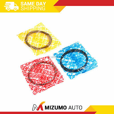 04-10 Pistons Rings /& Rod Main Bearings Lancer Galant Eclipse 2.4L 4G69