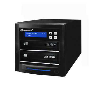 Econ 2 Target Blu-ray DVD CD Disc Duplicator 500GB HDD + USB 3.0 ECON-S2T-BD-BK