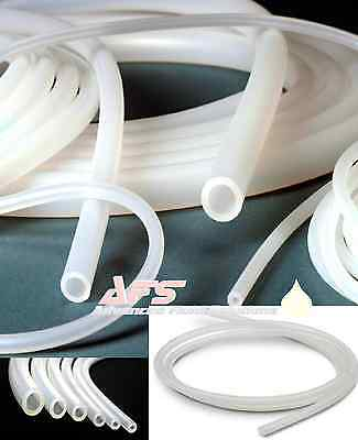 CLEAR SILICONE Tubing Hose Pipe Pond Aquarium Fish Tank Air Pump FDA Marine Tube