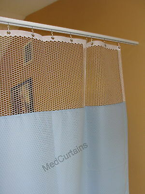 Curtain Bluemoon 68Wx93 HOSPITAL CLINIC LAB Antibacterial Antimicrobial medical