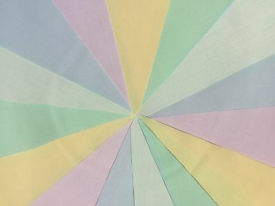Beautiful Handmade Fabric Bunting.pastels Or Florals.weddings Parties.fetes