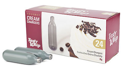 Cream Chargers 600 8g (24s)Tasty Whip Case