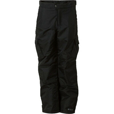 2013 NWT COLUMBIA POP SHOVE IT SNOWBOARD PANTS BOYS YOUTH black BRAND NEW $80