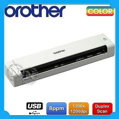 Brother DS-700D Portable A4 Single Sheet Mobile Color Document Scanner + Dulpex