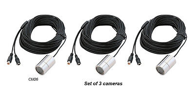 (3) 20M Underwater Video Color Camera 4Bright LEDs forFishing/Exploring/Swimming