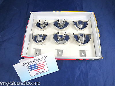 Dental Impression Trays Solid Children Stainless Steel Size S, M, L ANGELUS