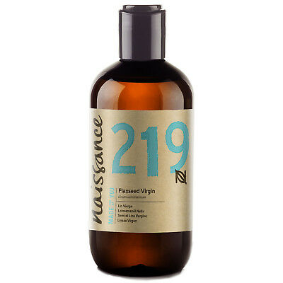 Flaxseed, Virgin Oil 250ml by Naissance
