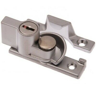 Whitco Window Sash Lock W273305 Lockable Satin Chrome Keyed Alike