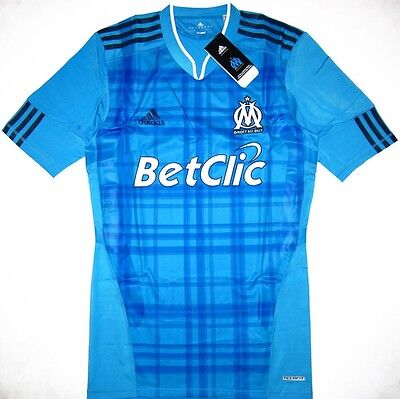 Marseille TECHFIT Player Issue Football Shirt Soccer Jersey l'OM Maillot France