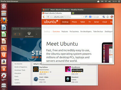 UBUNTU Linux Live DVD Latest Version or LTS - Try or Install! FREE Extras Disc!