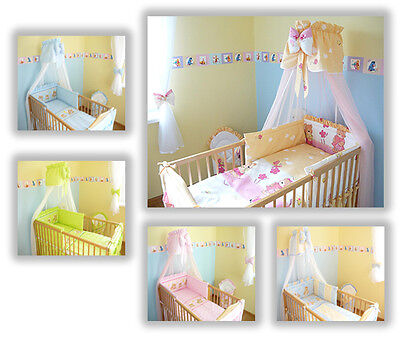 baby bettw sche bettset mit nestchen kinderbettw sche. Black Bedroom Furniture Sets. Home Design Ideas