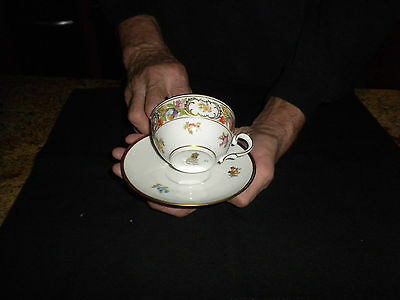 Vintage Schumann Germany Empress Desden Flowers Tea/ Coffe Cup Collectable