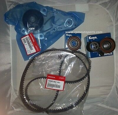 Genuine/oem Timing Belt & Water Pump Kit Honda/acura V6 Factory Parts!