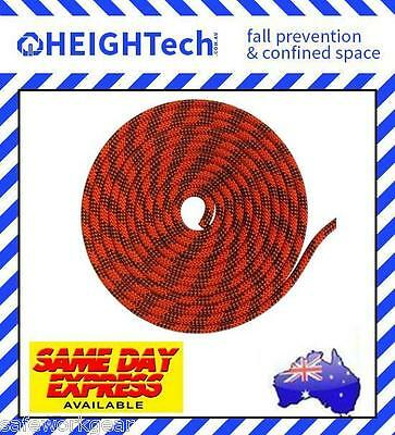 50 Metre Lengths Rope 11mm Kernmantle Abseil climbing rescue rated 3000kg Safety