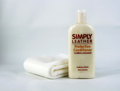 Simply Leather Protection Conditioner For Car, Sofa, Coat, Handbag / Cream