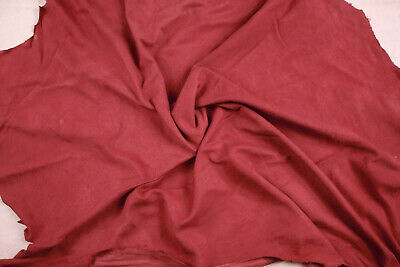 Silky soft goatsuede kid with velvet nap BARKERS HIDE /& LEATHER H380 Pink ecru