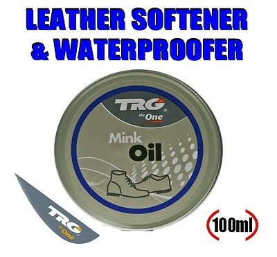 Mink Oil/Leather Conditioner/Waterproofer/Shoe/Boot/Sofa/Handbag/100ml/FREE POST