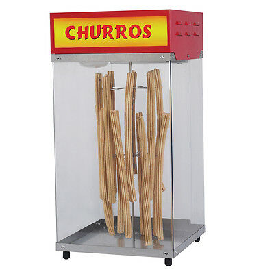 Churros Display Cabinet, Gold Medal #2049, *NEW* Lighted Cabinet