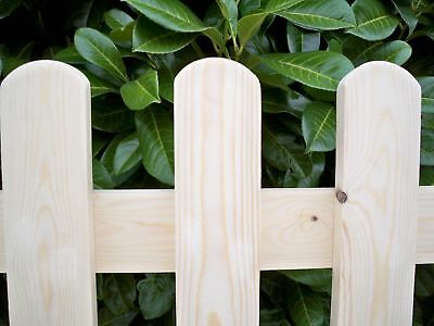 CUSTOM MADE TO ORDER 'PLANED SMOOTH' Wooden Picket Fence Panel Package Deals