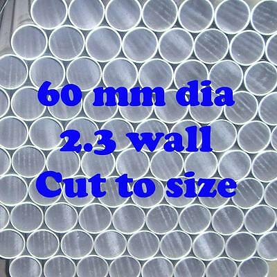 60mm 2.3 OS Dia Cut To Size Galvanized Steel Round Tube Pipe Fence Post Cheap!!!