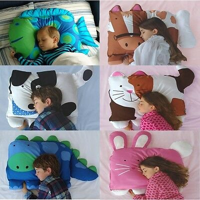 Baby Kids Toddler Cartoon Animal Pillowcase Standard Sham Sleep Pillow Support