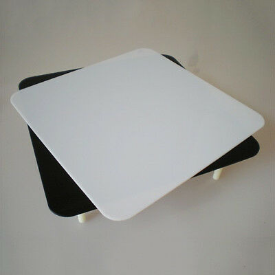 Acrylic Black & White Reflective Display Table For Photo Studio Cube Tent Light