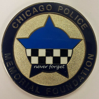 Cpd Memorial Challenge Coin