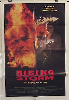 Rising Storm - Zach Galligan / Wayne Crawford - Original Usa 1Sht Movie Poster