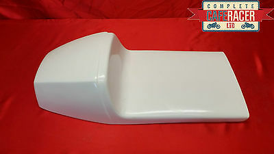 Triton Style Cafe Racer Seat New & Unused - In White