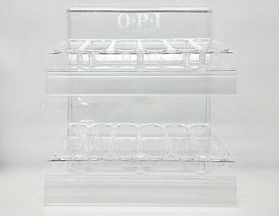 OPI Empty Clear Nail Polish Display Rack - Hold Up to 36 Bottles - BRAND NEW
