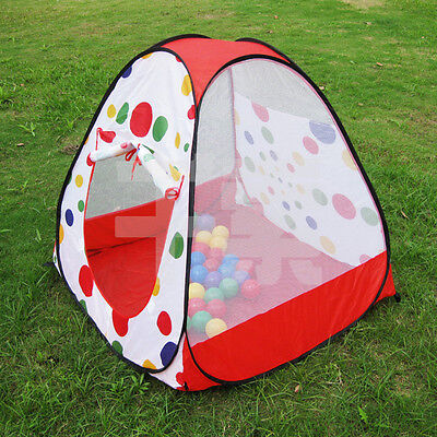 New Baby Kid Toddler Outdoor Indoor Pop up Play Tent Playhouse Castle Canopy Toy