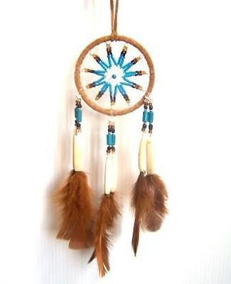 Large Dream Catcher New Handmade By South American Native Indians Brown