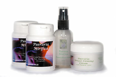 Pueraria Mirifica Breast Enhancement Combe Set - Great Value! Free Uk Delivery