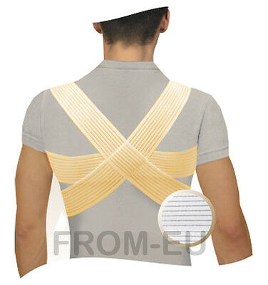 MEDICAL POSTURE CORRECTOR Shoulder Back Support Brace Clavicle Splint Band Belt