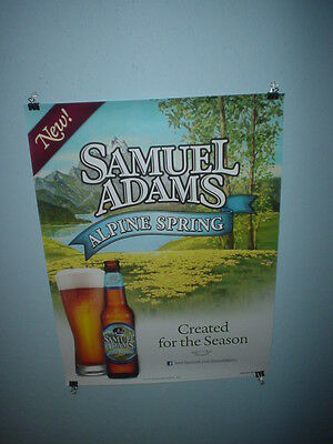 Sam Adams Beer Poster Alpine Spring Craft Beer Poster Micro Beer Poster