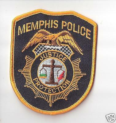 Memphis Police Dept. TN Uniform Shoulder Patch New