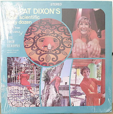 PAT DIXON'S SCIENTIFIC DAILY DOZEN-SEALED LP Exercise Record