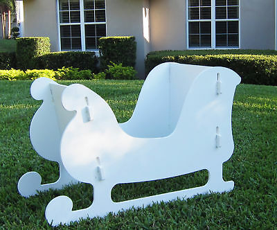 Christmas Outdoor Santa Sleigh