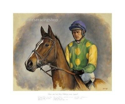 Kauto Star & Ruby Walsh Fine Art Print Picture Horse Racing High Quality Product