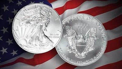 "2012 American Silver Eagle ""cherry-Picked"" From Sealed Tubes - No Visible Flaws!"