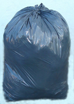 200 x Black Bags Heavy Duty Refuse Sacks Super Strong 140g Cleaning Janitorial