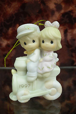 """Precious Moments-#272736 """"Our First Christmas Together"""" Ornament 1997-NEW in BOX"""